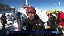 Hautes-Pyrénées : un ponton à 2 877 mètres d'altitude