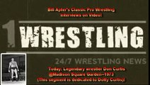 DON CURTIS ON BILL APTER CLASSIC WRESTLING INTERVIEWS