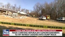 Train Carrying GOP Members Reportedly Hits Truck