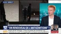 """Il n'y a """"pas un nouvel antisémitisme"""" mais """"une multiplication de cas"""", estime Adrien Quatennens"""