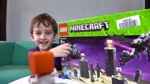 Minecraft O Dragão Ender de Lego Brinquedos Homem Aranha - Minecraft Toys