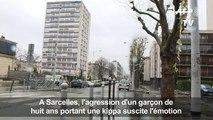 Sarcelles: réaction des habitants à l'agression d'un garçon juif