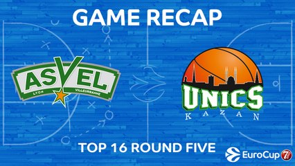 7Days EuroCup Highlights Top 16, Round 5: ASVEL 77-83 UNICS