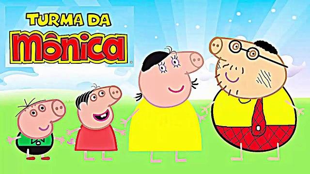 peppa pig portugues completo desenho da familia pig vestidos de turma da monica completo brasil