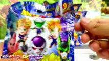 12 Nuevos Original Minis de Dragon Ball Z Abriendo Sorpresas con Goku + Majin Buu y más