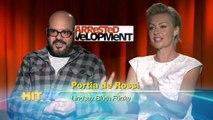 Arrested Development - Portia de Rossi & David Cross Interview