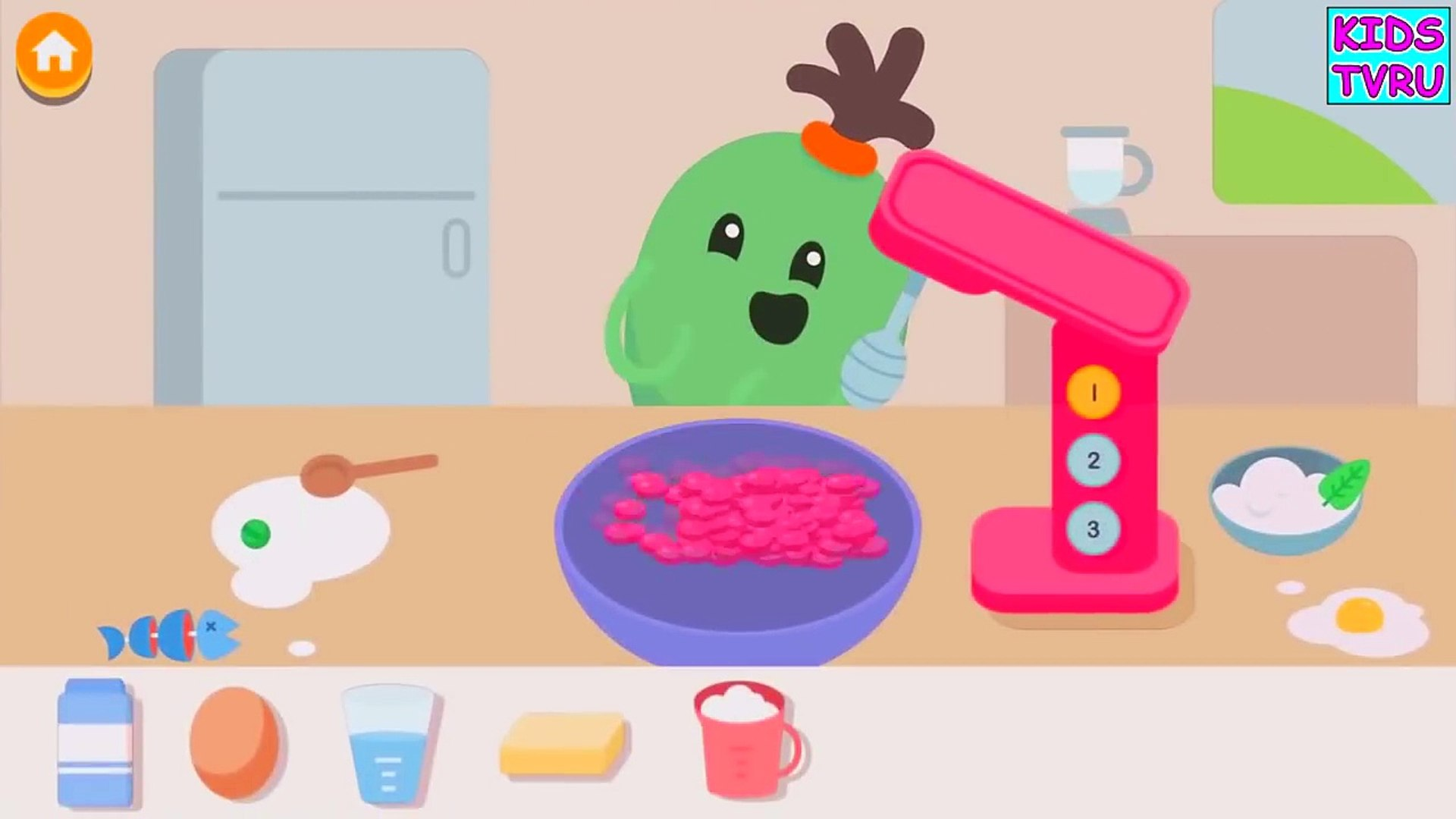 Смотреть Мультики про Фрукты и Овощи мультфильм веселое развивающее видео для детей от kids tv ru