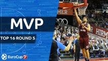 7DAYS EuroCup Top 16 Round 5 MVP: Danilo Barthel, FC Bayern Munich