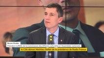 """Révocation de Mathieu Gallet  : """"Le CSA s'est prononcé en toute indépendance"""", dit Bruno Studer"""
