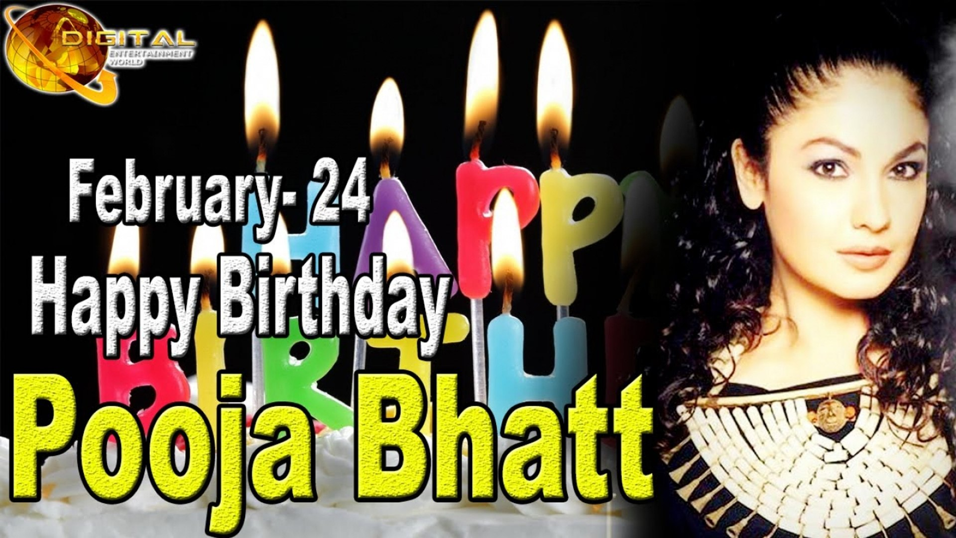 Happy Birthday Pooja Bhatt February 24