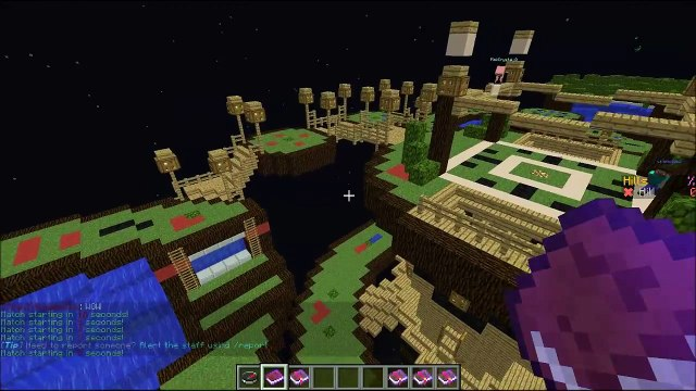"""Minecraft """"HOLD THE HILL!"""" KING OF THE HILL Server Minigame"""