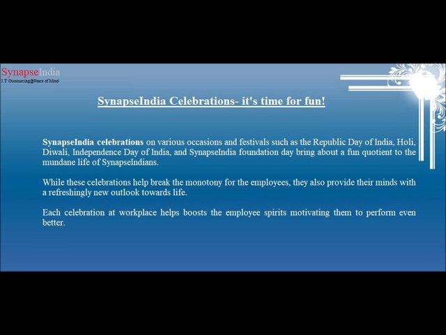 SynapseIndia Celebrations on 18th foundation day