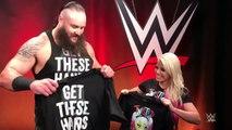 Alexa Bliss & Braun Strowman Exchange Shirts (Funny)