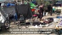 Un campement de SDF californiens menacé d'être évacué