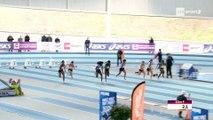 Meeting de Nantes 2018 : Finale 60 m F (Carolle Zahi en 7''15)