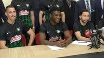 Denizlispor'da 8 Futbolcu İmza Attı-Denizlispor'da Toplu İmza Töreni