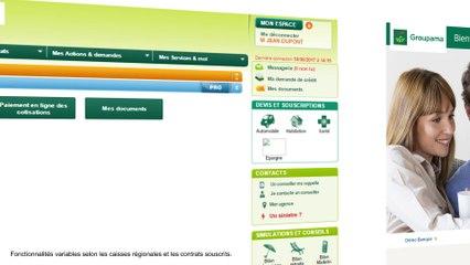 Espace Client Groupama.fr - Consulter un contrat Auto