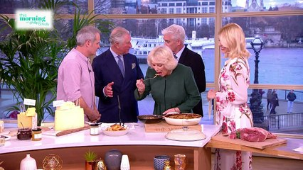 Prince Charles and Camilla meet Holly and Phil