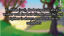 Neighbor | Nasheed | Islamic Song | Islamic Cartoon | Islamic Kids Videos | Story for Chil