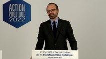 Discours : comité interministériel de la transformation publique