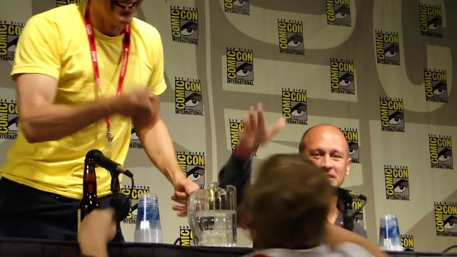 Mike Judge Beavis and Butt-Head panel at Comic Con