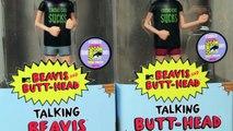 Beavis & Butt-Head Talking Beavis & Butt-Head Wacky Wobbler SDCC 2011 Exclusive Bobble Head Review