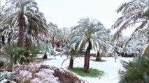 Maroc : de la neige dans le désert