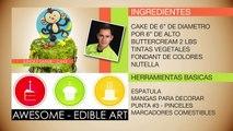 DECORACION DE PASTELES - BABY JUNGLE SAFARI ( CRUMB CAKE )