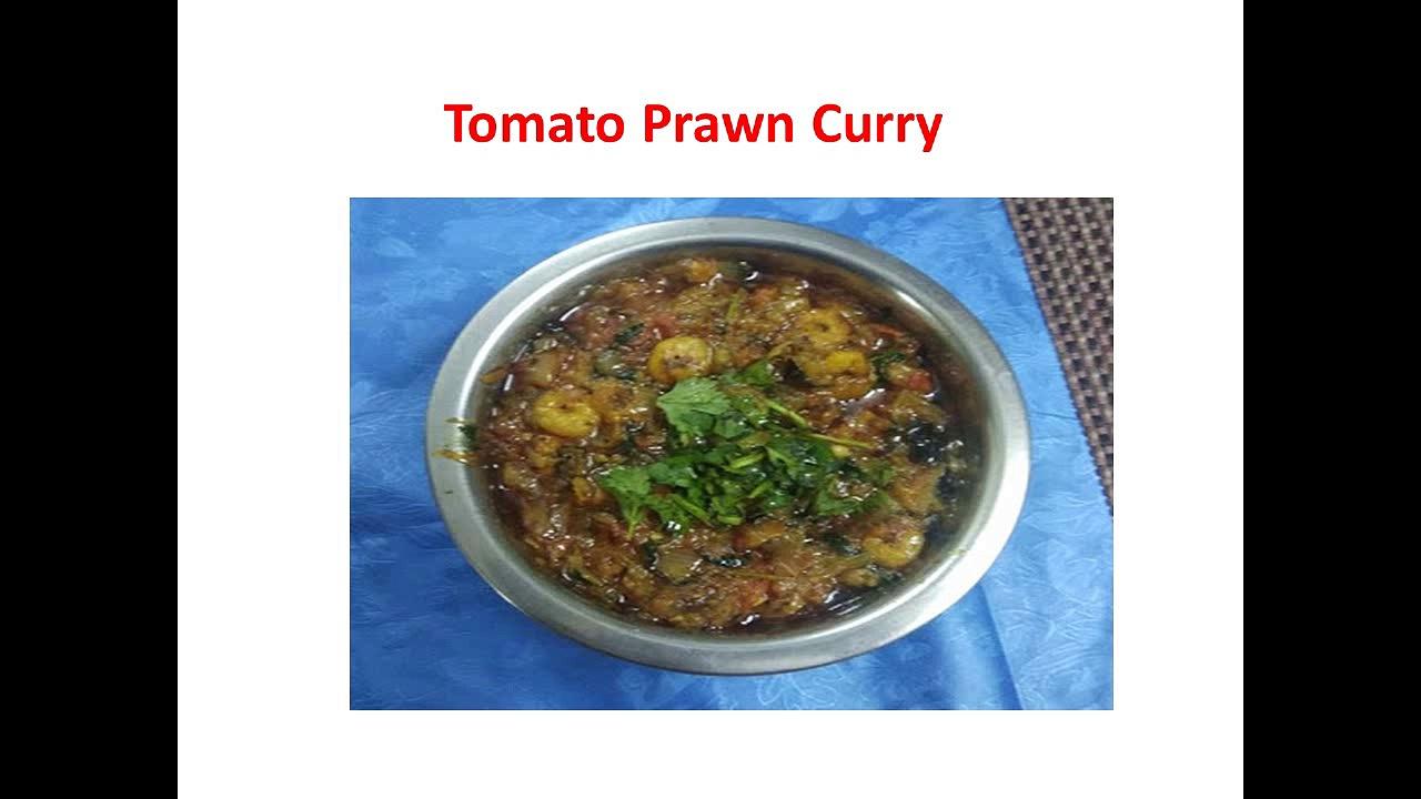 Tomato Prawn curry