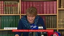 """Meurtre d'Alexia Daval : la charge de la procureure contre """"la folie médiatique"""" autour de l'affaire"""
