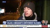 """Migrants blessés par balle à Calais: """"On a vu des scènes de guerre"""", lance l'Auberge des migrants"""