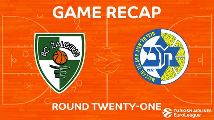EuroLeague 2017-18 Highlights Regular Season Round 21 video: Zalgiris 99-84 Maccabi