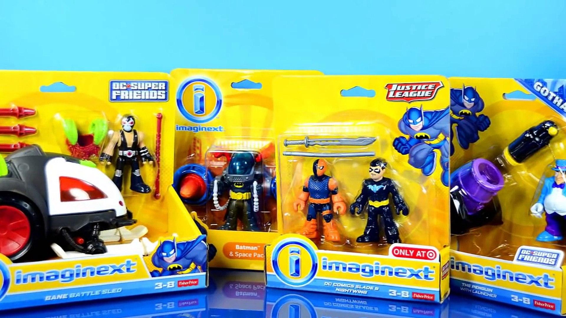 IMAGINEXT DC Super amis Super Heroes /& Villains pack de 5