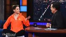 Rose McGowan Discusses Harvey Weinstein Scandal on 'Late Show' | THR News