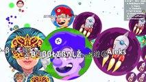 GREATEST AGAR.IO MOMENTS & EDITS OF BubbleBALZ (Agar.io Best Moments Compilation)