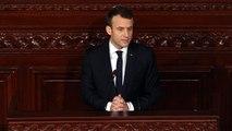 ماكرون يتعهد بمواصلة دعم بلاده لتونس