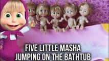 Five Little Monkeys Jumping on a Bed / Bathtub Collection | Mickey Masha Princesses Peppa Pocoyo