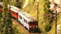 Awesome model train layouts made in Swiss model railroading and railway modelling style   Pilentum Television - The world of model trains