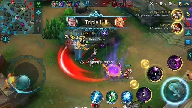 Mobile Legends : Alucard Full Lifesteal/50% Lifesteal - All Build One Item  (Fallen Sword)