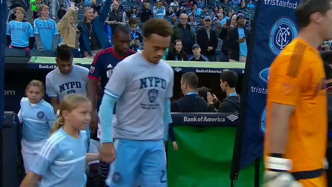 New York City FC vs. New England Revolution   2015 MLS Highlights