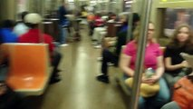 MTA NYC Subway: On Board R46 (R) Train from Whitehall Street-South Ferry to Cortlandt Street