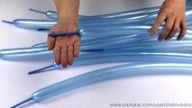 Ваза из шаров шдм s260 Vase of balloons s260