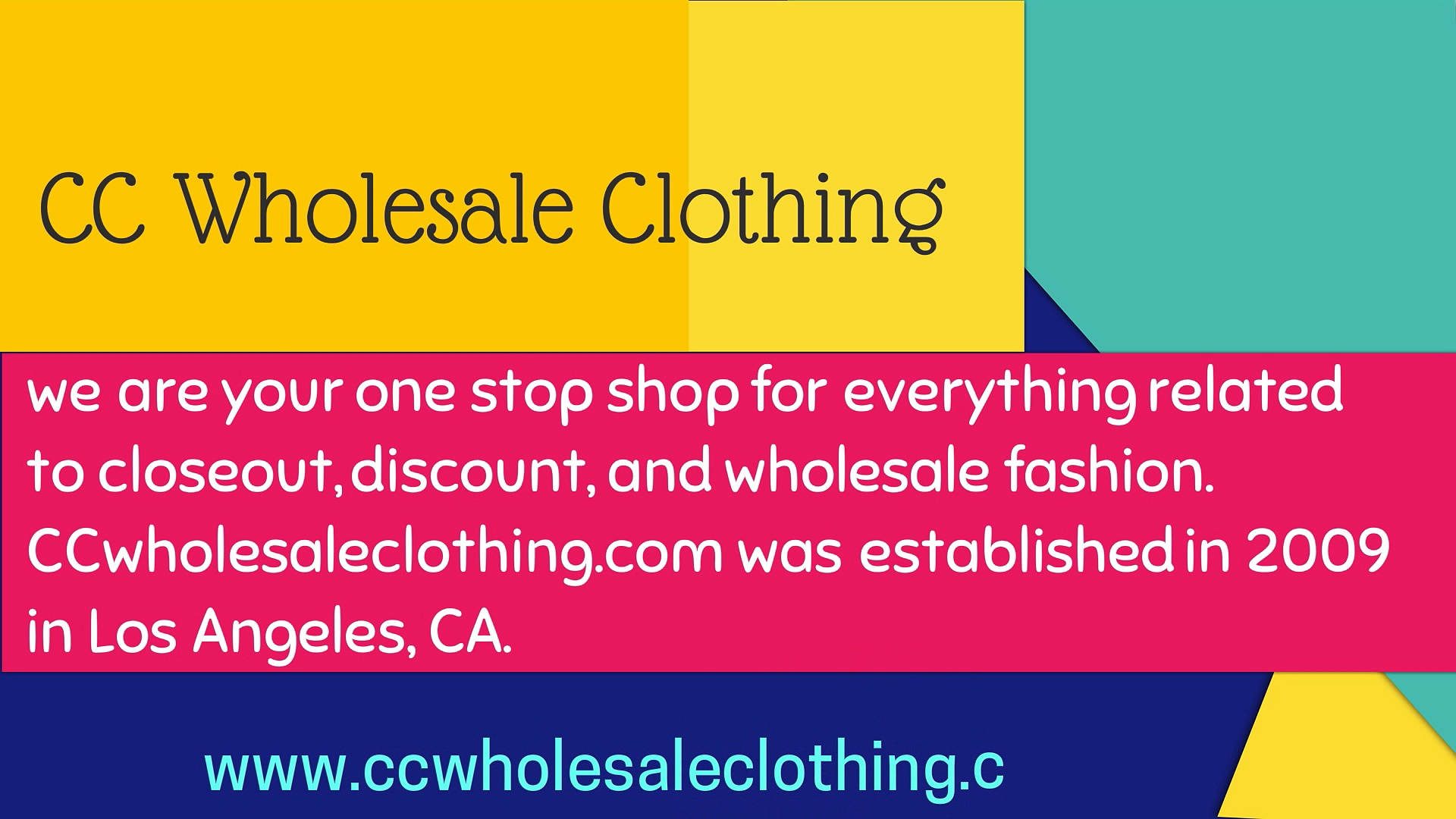 Kids wholesale clothing online by CC Wholesale Clothing