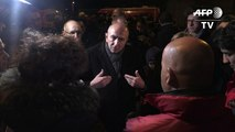 Collomb à Calais après des affrontements violents entre migrants