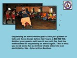 Activity Like Interactive Gumboot Dancing Adds Fun To Events.