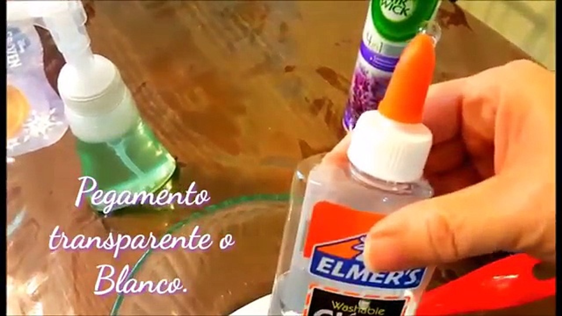 Como Hacer Slime Esponjoso Sin Borax Almidon Ni Detergente How To Make A Fluffy Slime Video Dailymotion