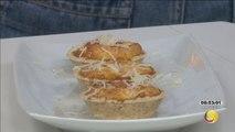 Mulher Demais - Miniquiche aos cinco queijos