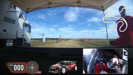 EXCLUSIF CO-DRIVE CITROEN C3 WRC