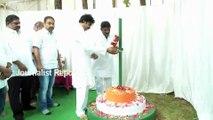 Pawan Kalyan Flag Hoisting at JanaSena Party Party Office
