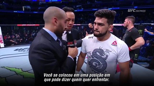 UFC Xangai: Entrevista no octógono com Kelvin Gastelum e Michael Bisping